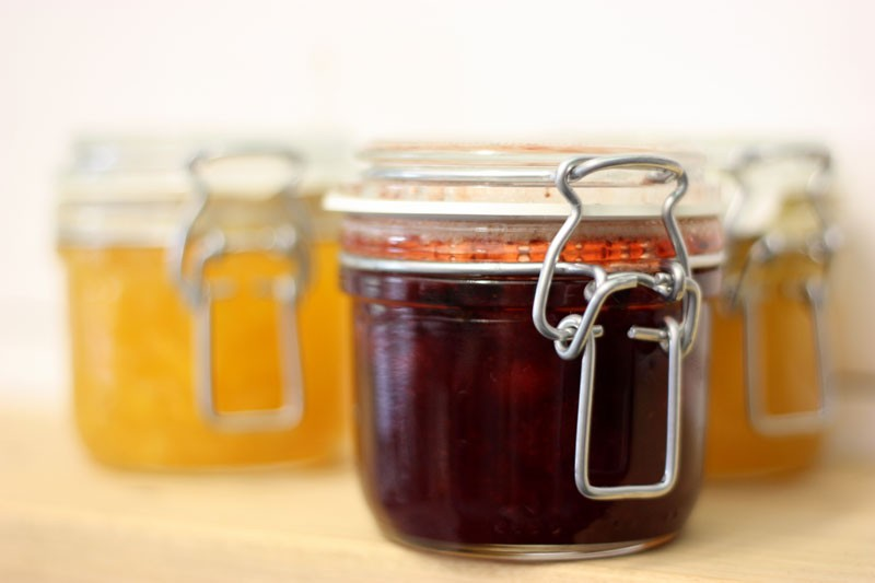 Homemade Jams - A Delicious Gift