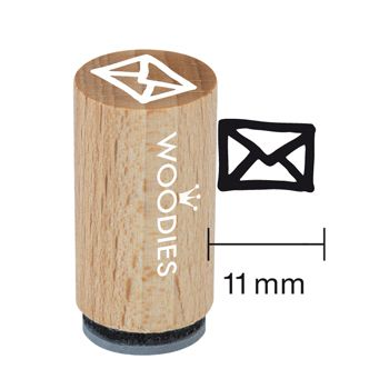 Woodies Ministempel - Taschenstempel - Stempel Post
