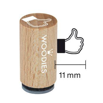 Woodies Ministempel - I like Stempel