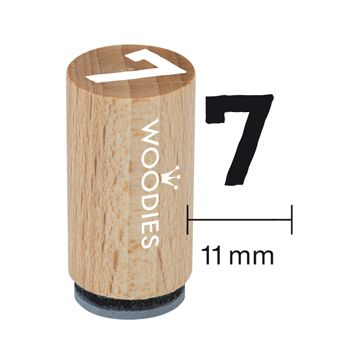 Stempel Zahlen Woodies Stempel Kindermotive